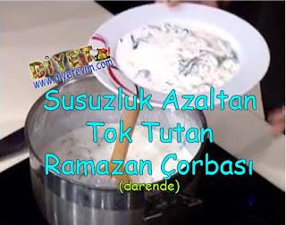 ramazan çorbaları