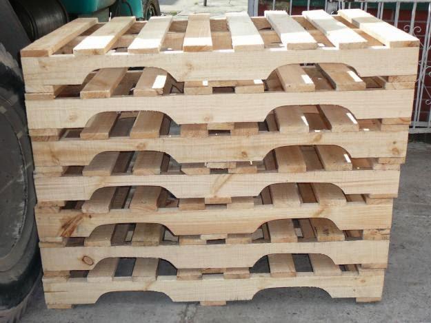 Maderas y estibas cartagena madera abarco for Muebles hechos con estibas
