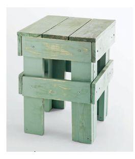 Banco de madeira reuso