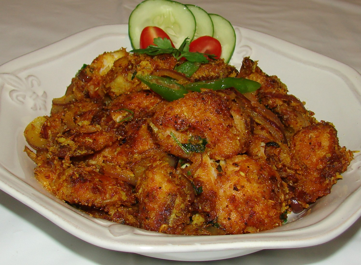 Fish coconut fry for Best fish for frying