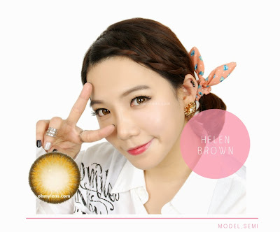 Helen Brown Contact Lenses at ohmylens.com