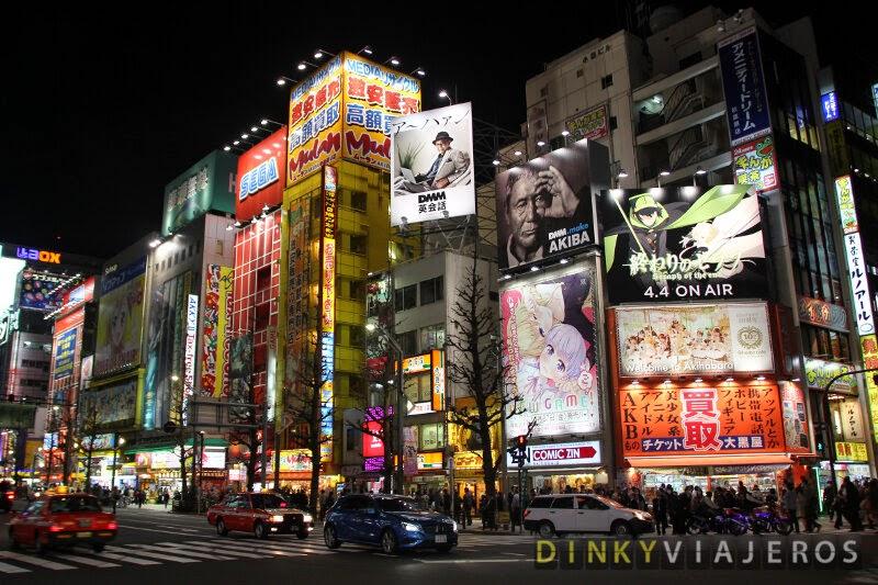 Barrio de Akihabara en Tokio