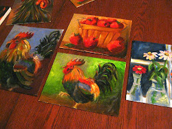 FarmHer JILL's original oil paintings