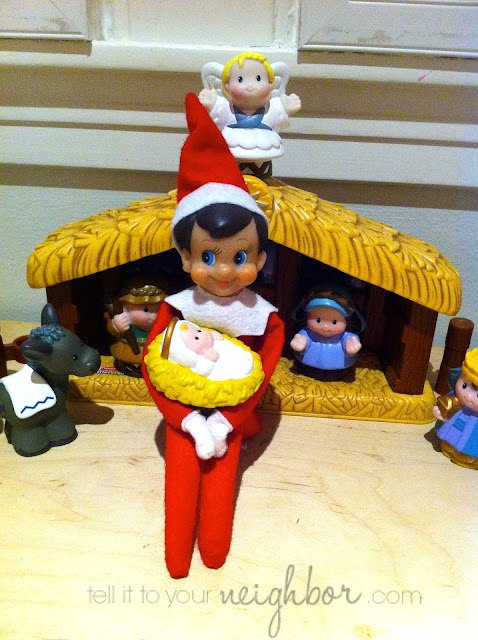 Elf on the Shelf ideas, fast elf on the shelf ideas