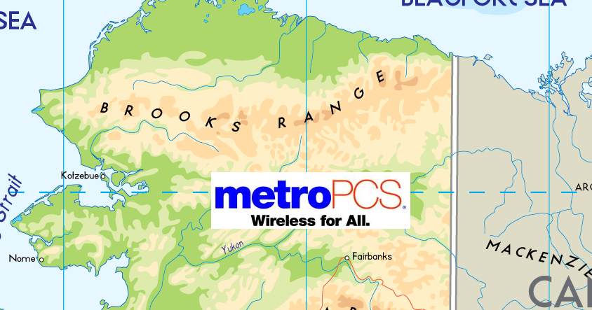 Dead Zones Does MetroPCS Have Coverage In Alaska - Metro pcs us coverage map