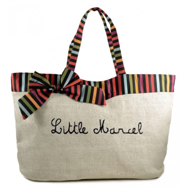 beach bag sac de plage xxl little marcel. Black Bedroom Furniture Sets. Home Design Ideas