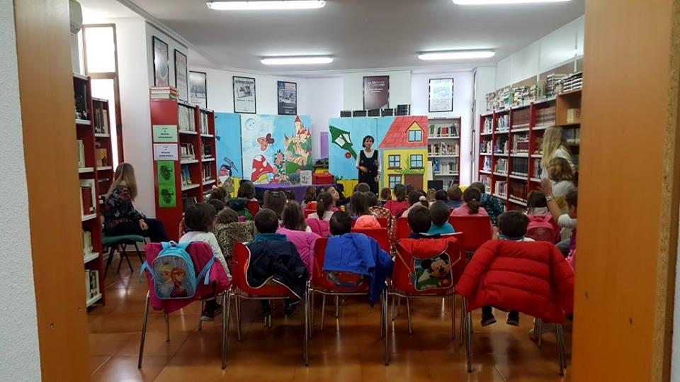 SUSANA TRESBOTONES CUENTA CUENTOS A EDUCACIÓN INFANTIL, 26/10/2018