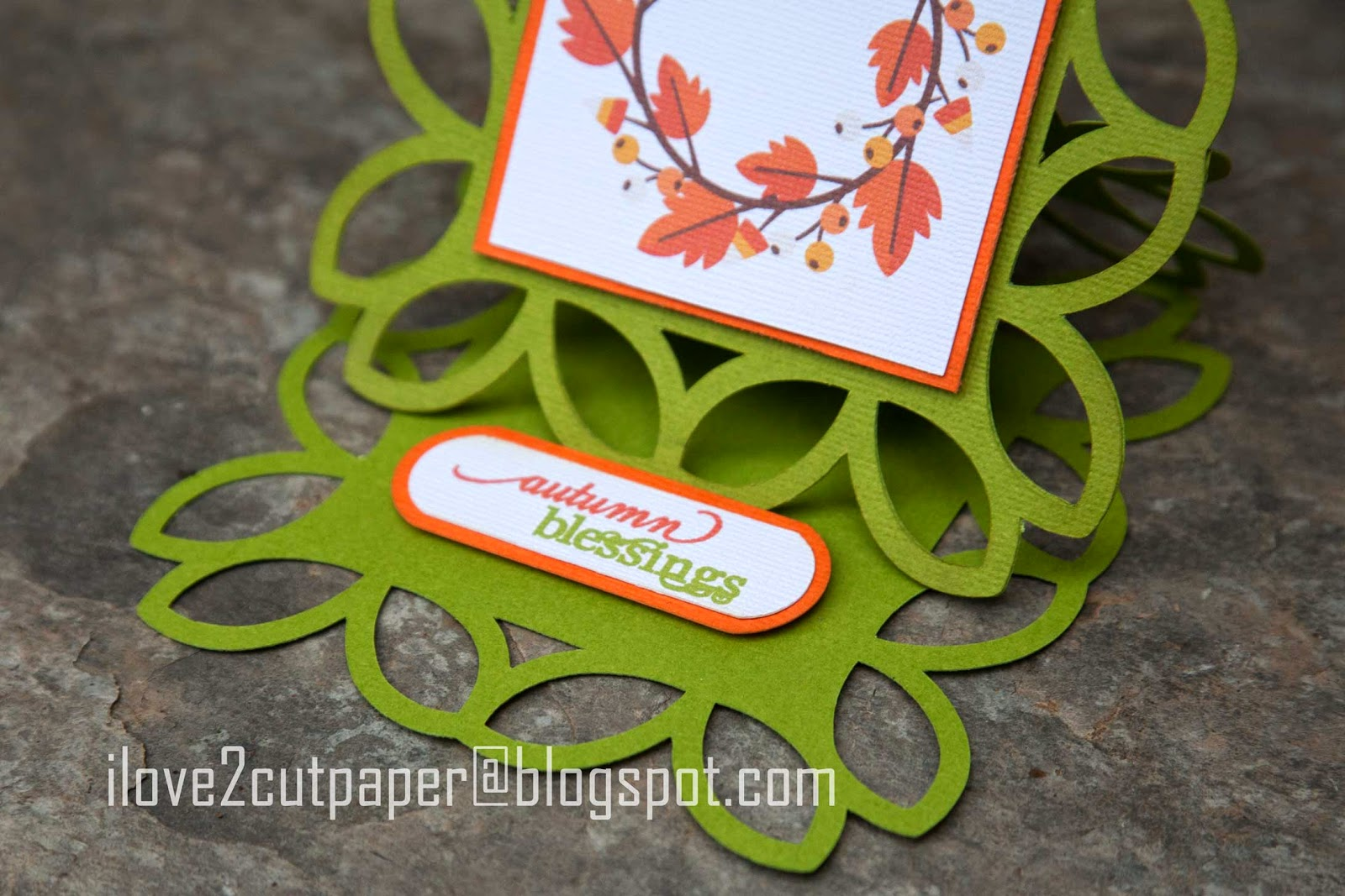 Tag for Easel Card - Print and Cut