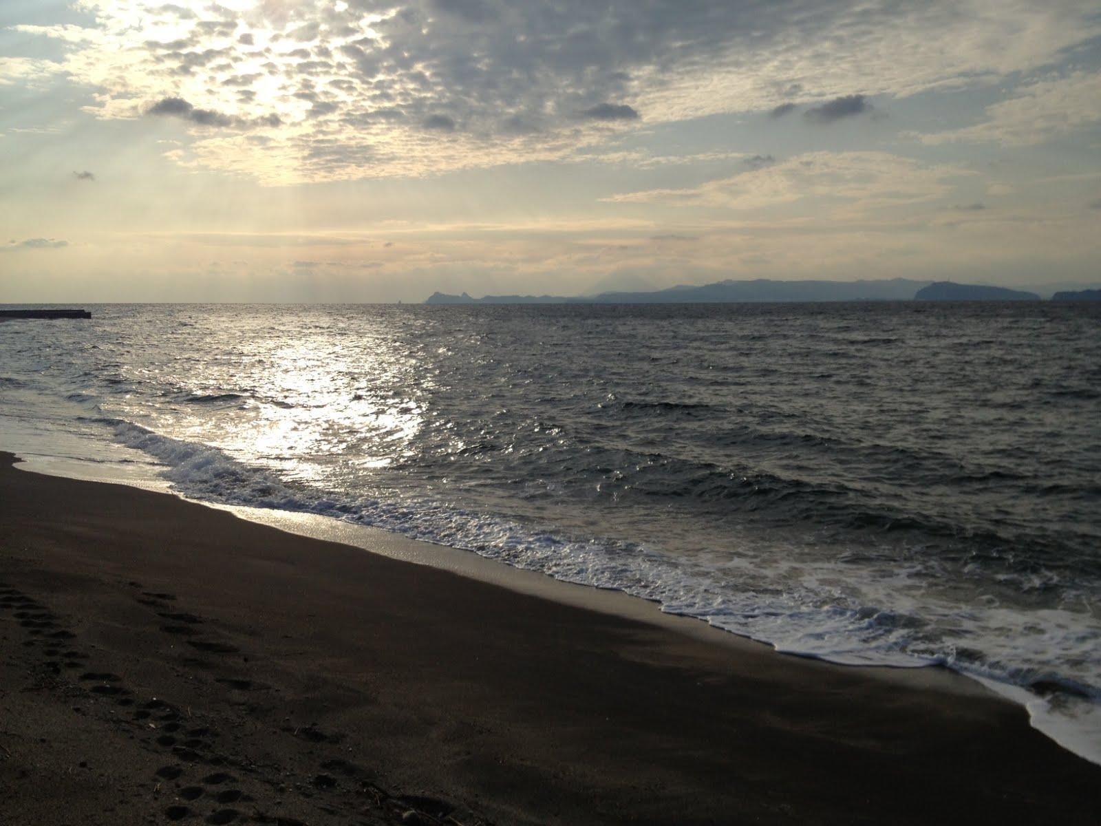 愛に恋! Eishin blog: 錦江町の海風景!