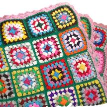 Работилница за плетене на пончо от квадрати