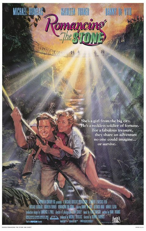 romancing the stone 1984 romancing the stone was directed by robert    Romancing The Stone