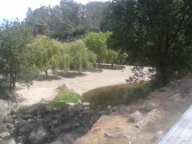 Praia Fluvial de Caldas Sangemil e Rio Dão