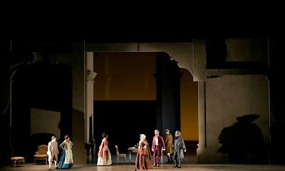 Mozart's Le nozze di Figaro at Teatro Regio Torino directed by Elena Barbalich, photo Ramella&Giannese (c)Teatro Regio Torino