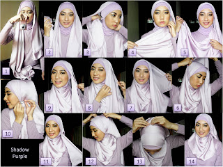 Paris hijab tutorial youtube 2013, modis dan praktis.