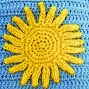 http://www.ravelry.com/patterns/library/rays-of-sunshine-applique