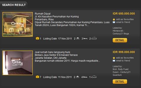 Info Century 21 Broker Properti Jual Beli Sewa Rumah Indonesia