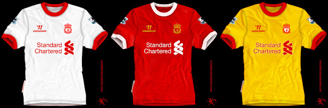 Kostum Baru Liverpool Musim 2013-2014