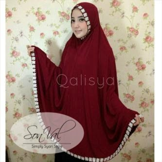 Kebaya Pengantin Jilbab Jumbo Modern Jersey Lyra Virna