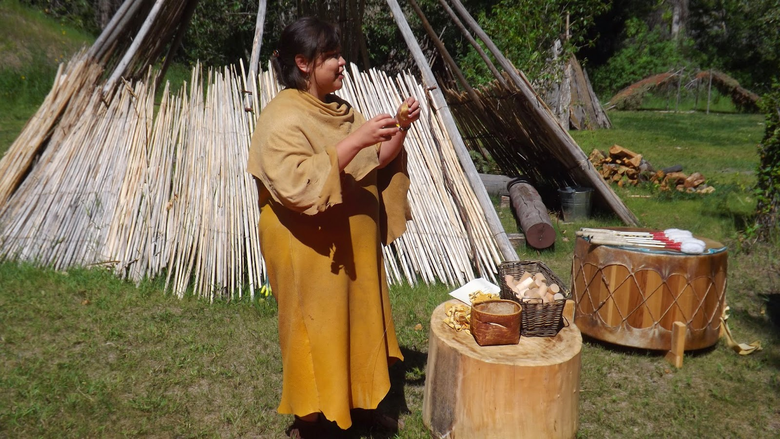 how to make first nations drum beats