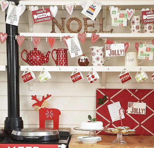 decoracao cozinha natal : decoracao cozinha natal:Kitchen Christmas Decorating Ideas
