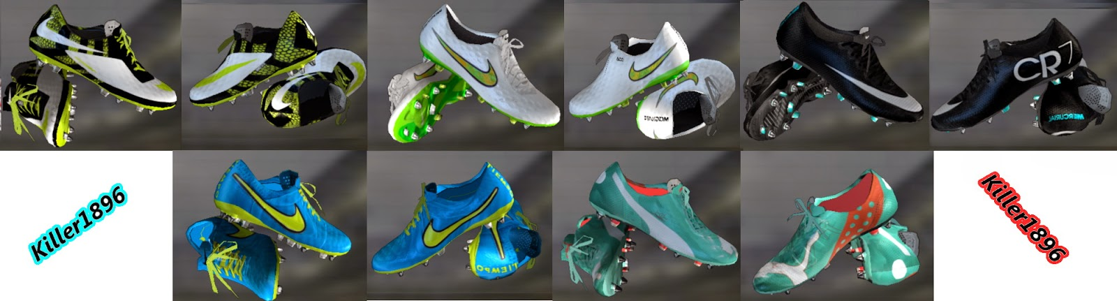 PES 2013 New Mini Bootpack by killer1896