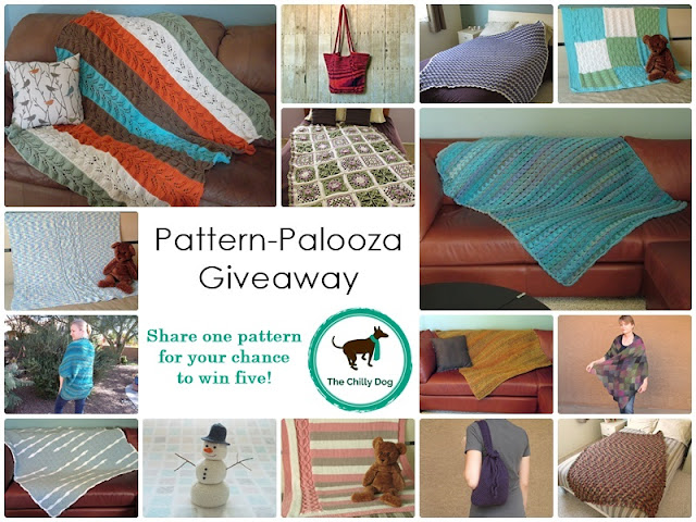 Share one knit or crochet pattern for your chance to win five!