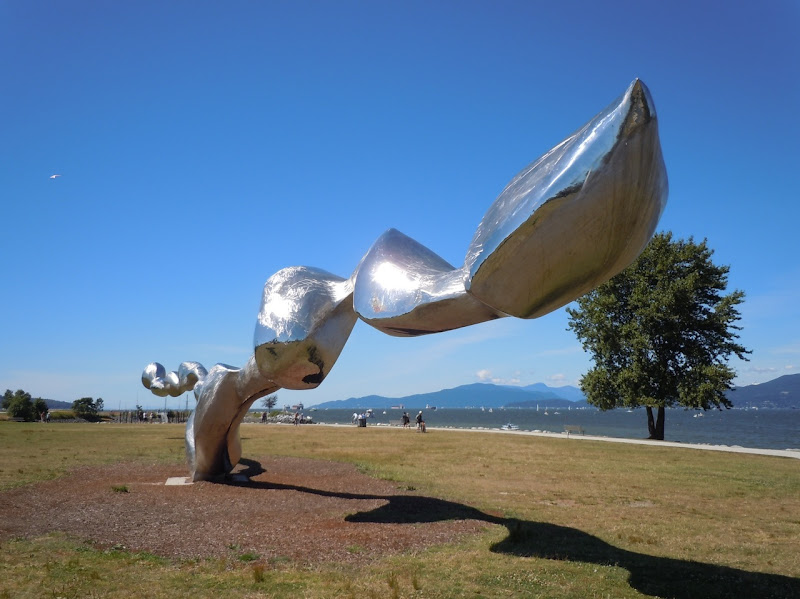 Freezing Water sculpture Vancouver Beinnale
