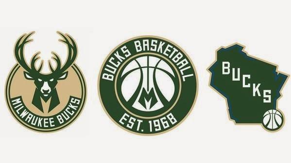 Milwaukee Bucks redesign 2015