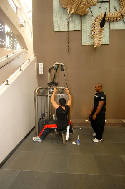 Ramcharan gym body