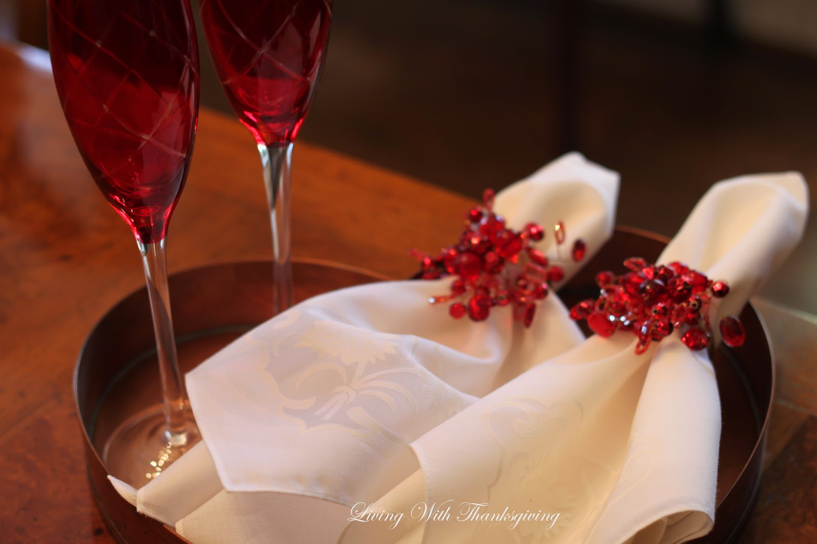 Are you planning a romantic valentine dinner living for Table for two