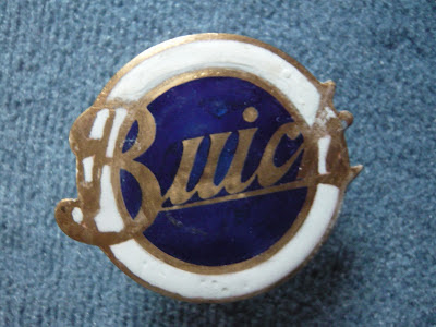 buick radiator emblem badge vintage 1912