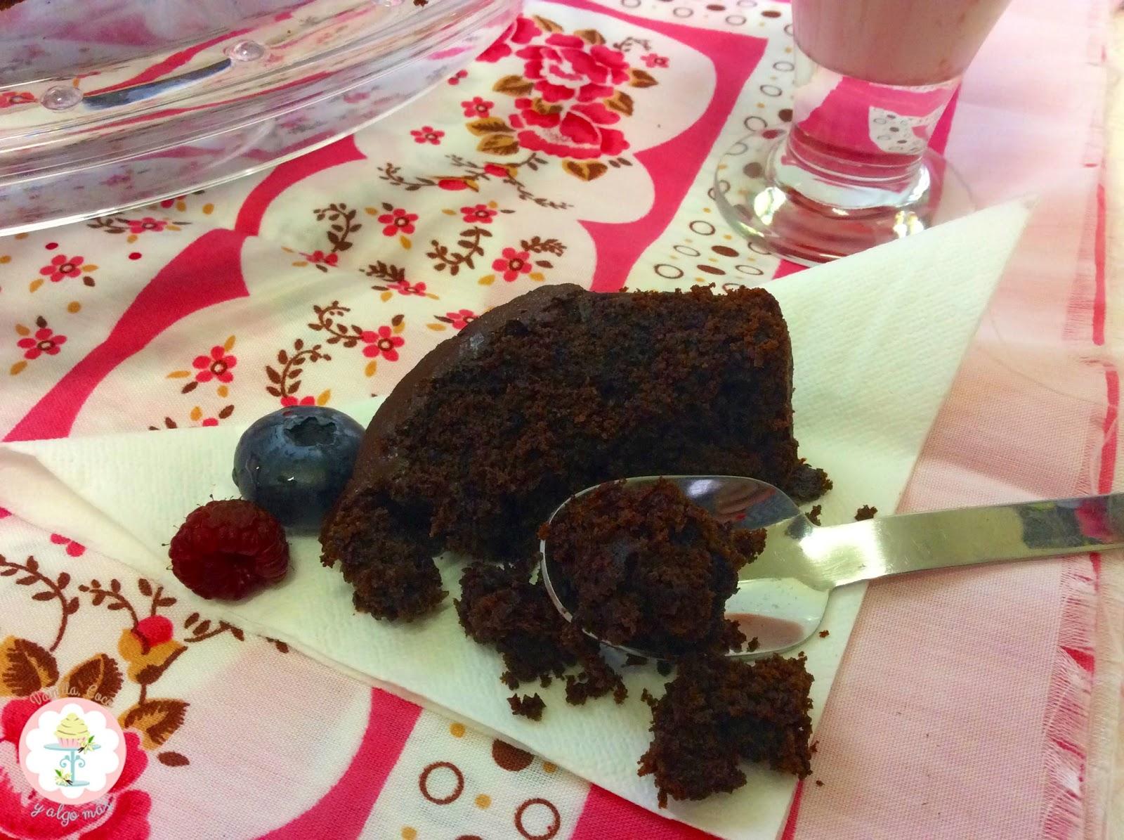 Devil´s food cake Vainilla Coco y algo más