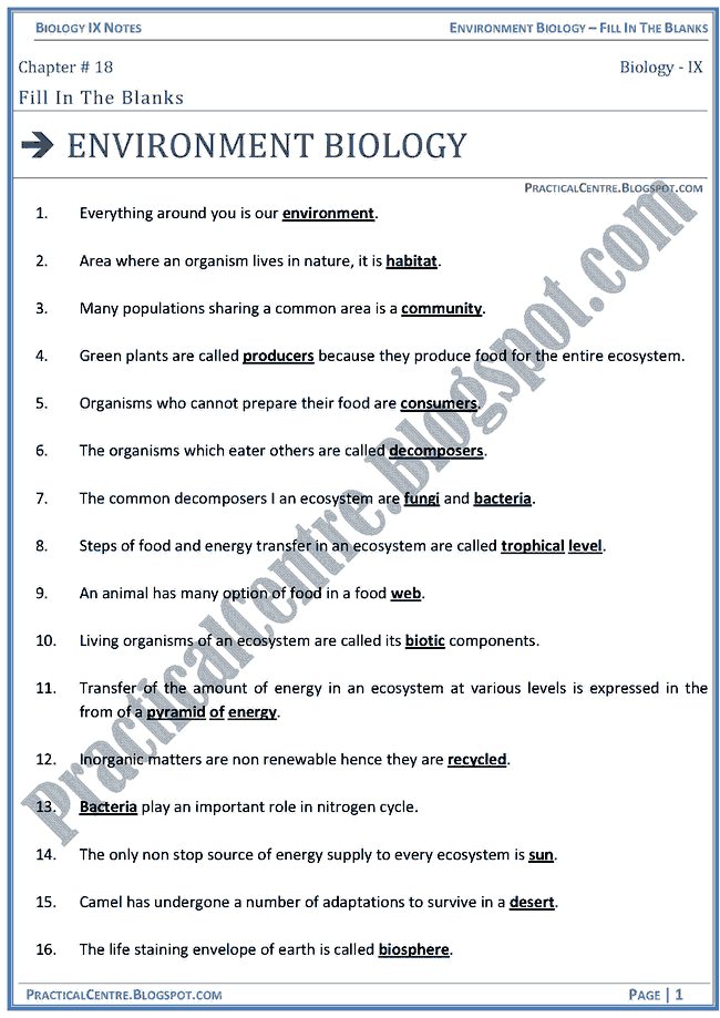 environmental-biology-blanks-biology-ix