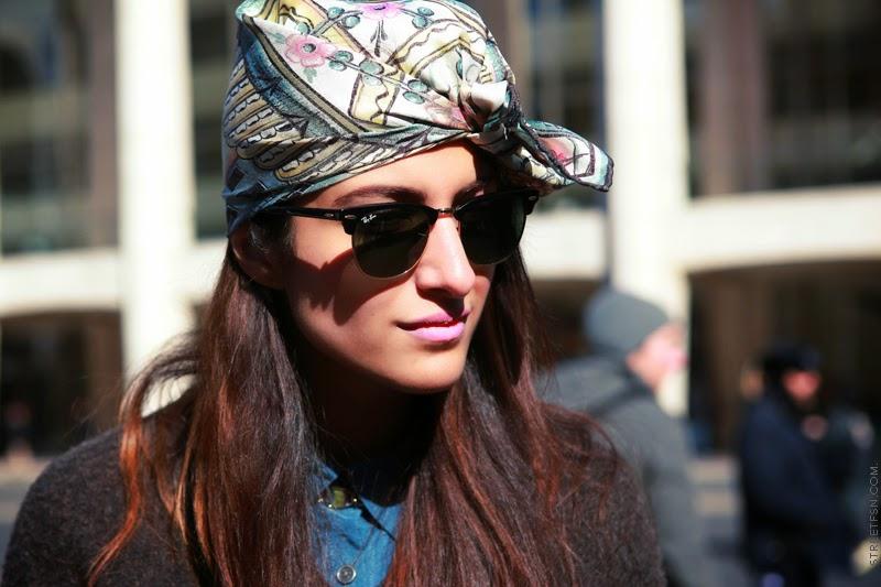 Trends 2015 Inspiration: Silk Scarf