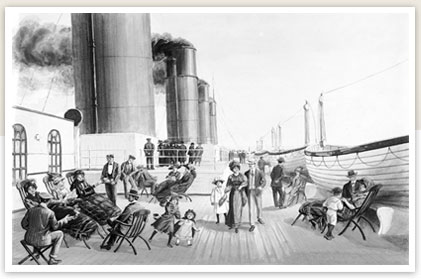 Deck Chairs On The Titanic