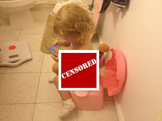 Censored Potty Photo