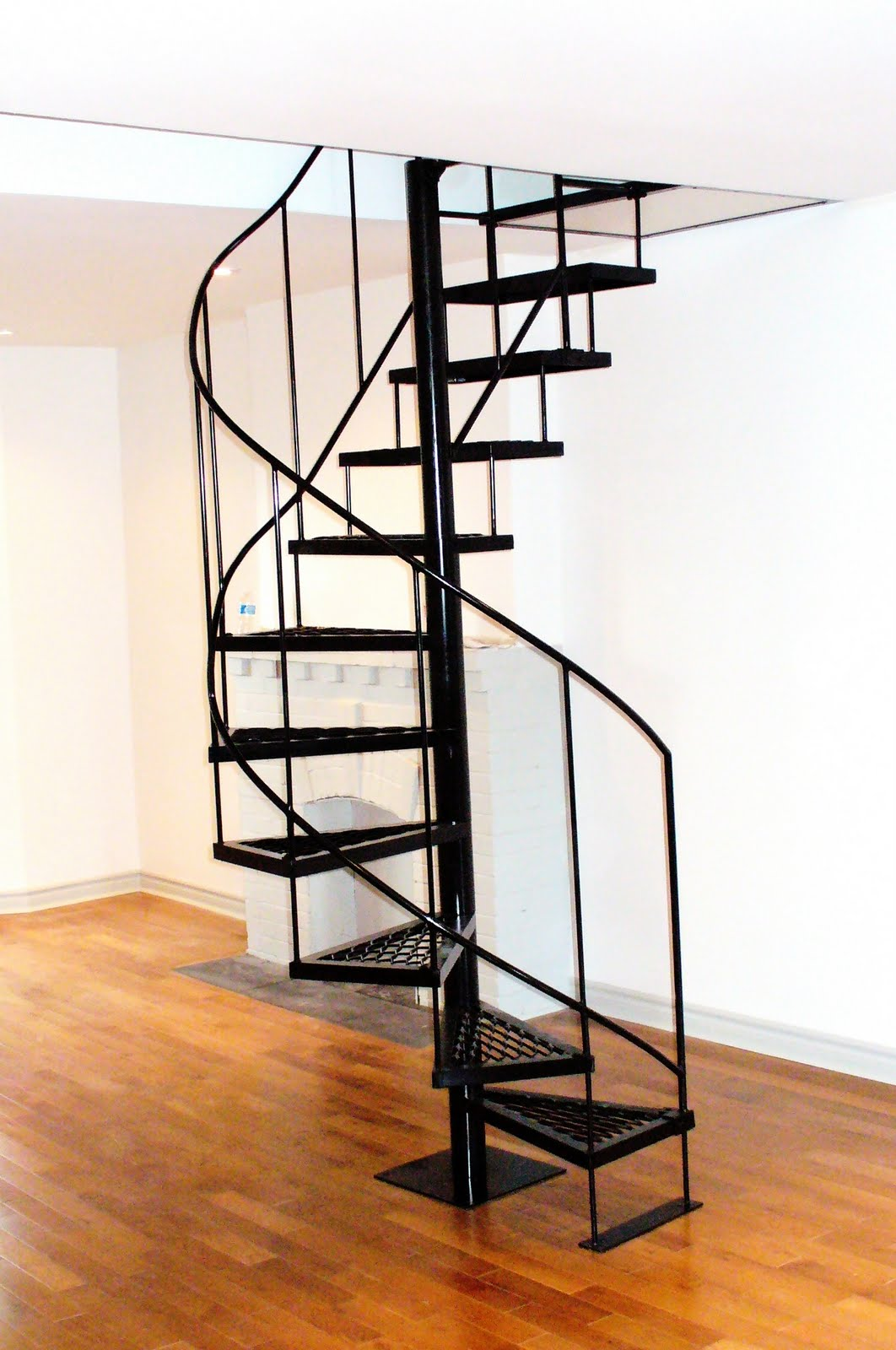Wrought iron from julian wrought iron spiral staircases - Spiral staircase wrought iron ...