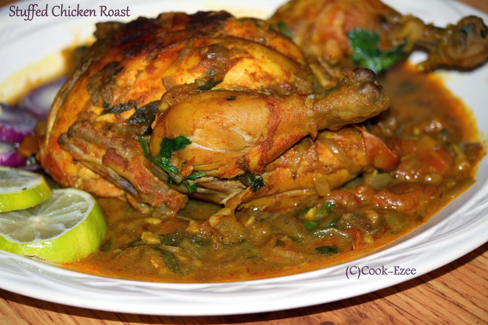 COOK-EZEE: Kozhi Nirachathu Malabar Style/Stuffed Chicken ...