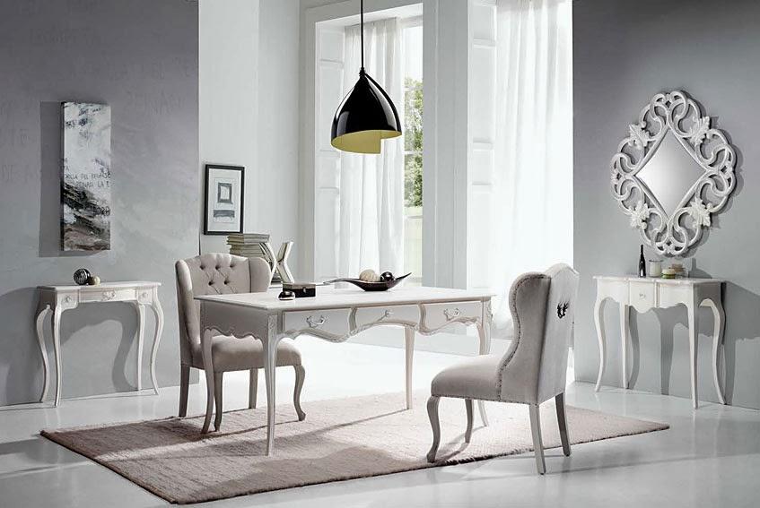 El blog de demarques muebles provenzales blancos leblanc - Despacho en casa ...