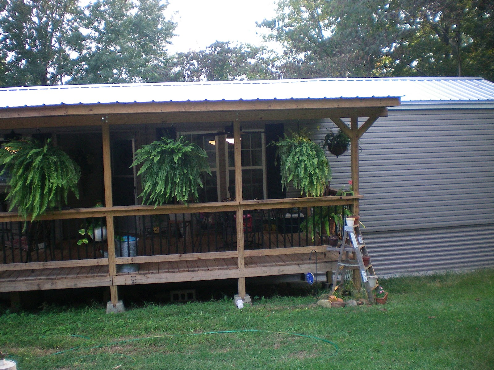 mobile home porch roofs