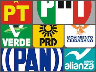 Logotipos de Partidos Políticos de México