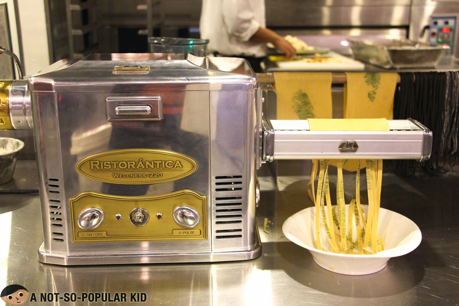 Pasta Maker in Vikings Buffet - SM Megamall