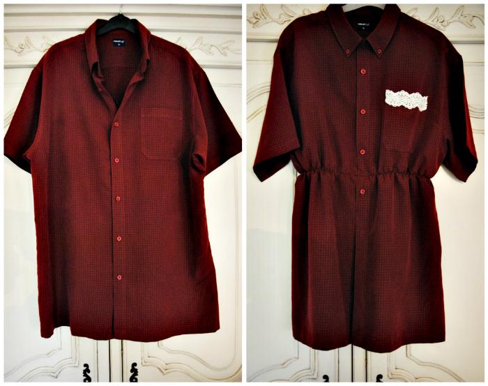 Перешив Рубашки В Блузку