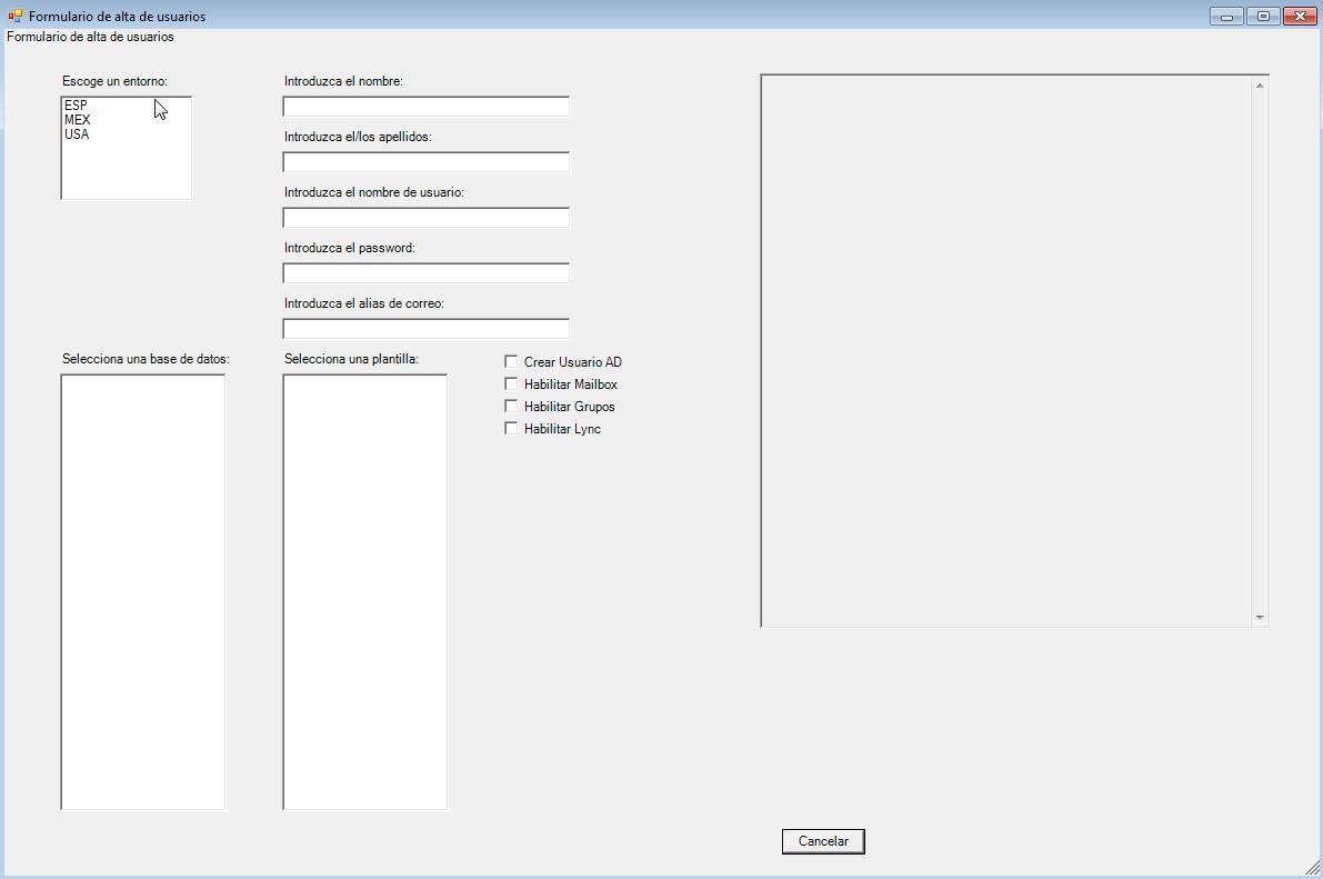 La Senda del Admin: Formulario Powershell para alta de usuarios ...