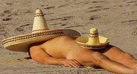 On nude beach teen Pia Miller
