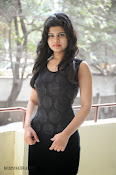 Alekya Photos in Black at Aa Aiduguru Press meet-thumbnail-18