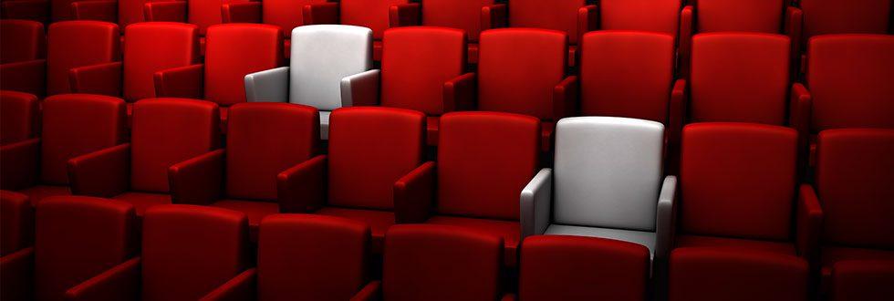 norma americana: sala de cinema