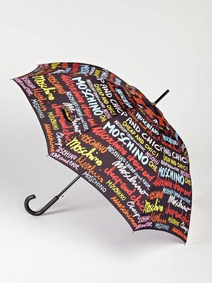 Chapeu de chuva Moschino