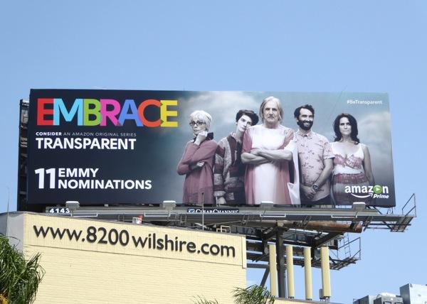 Embrace Transparent 2015 Emmy billboard