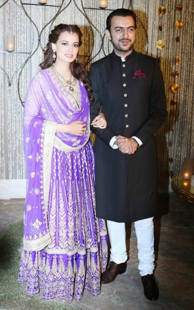 Dia Mirza and Sahil Sangha's engagement Hot HD Wallpapers